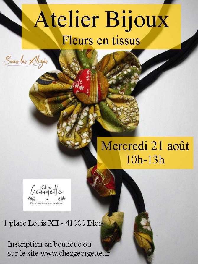 Atelier Bijoux Aout 2019