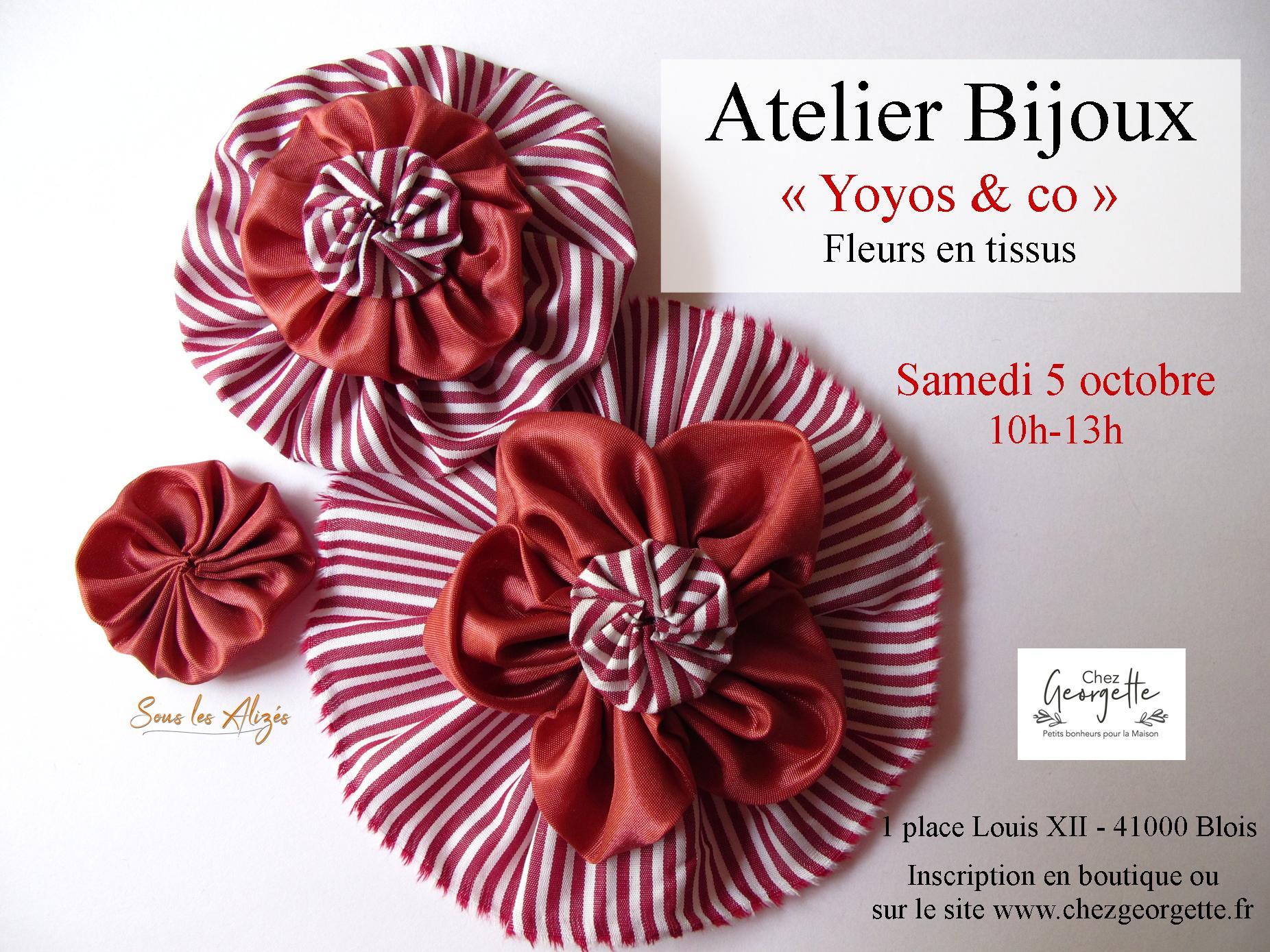 Atelier Bijoux Octobre 2019