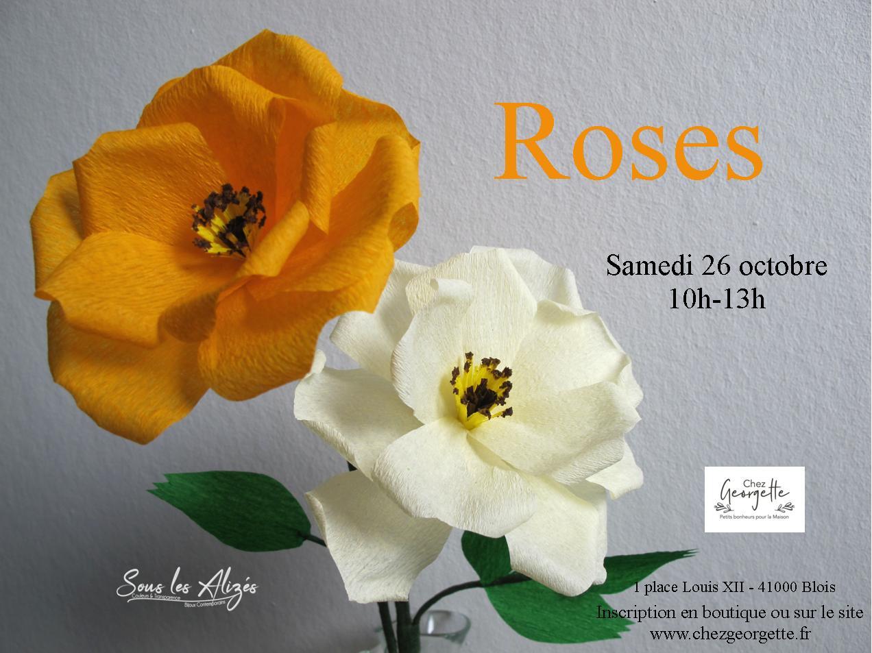 Open rose Octobre 2019